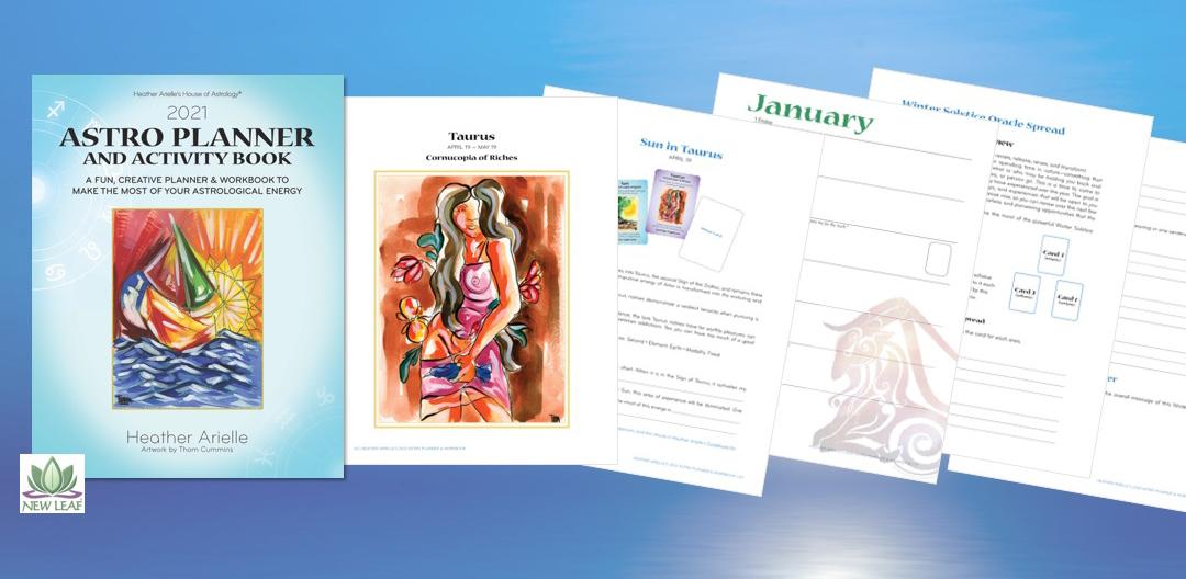 astro astrology planner activity book